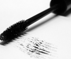 mascara, black, and make up image