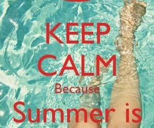 summer and keepcalm image