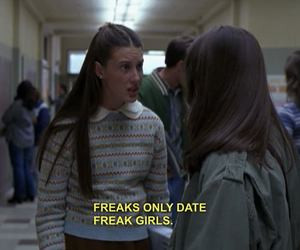 freaks and geeks, millie, and scene image