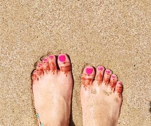 art, feet, and nails image