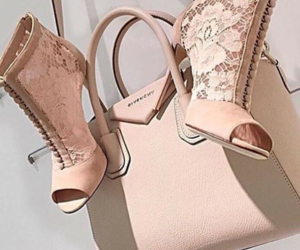 bag, Nude, and shoes image