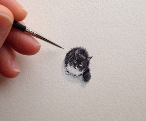 3d, draw, and cat image