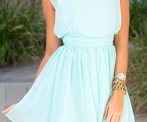 beautiful, fashion, and blue image