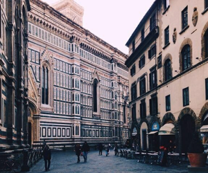 city, florence, and italian image