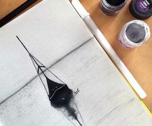 art, black, and blogger image