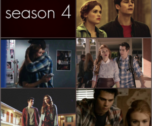 lydia, teen wolf, and season 4 image