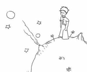 illustration, le petit prince, and minimal image