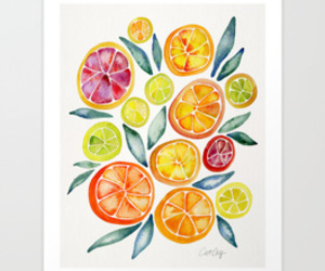 artist, canvas, and fruit image