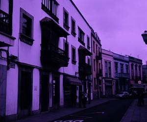 neon, purple, and arianagrande image