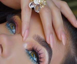 beauty, colorful, and nails image