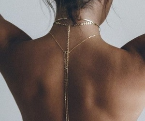 aesthetic, body chain, and girls image