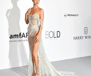 dress, bella hadid, and ralph and russo image