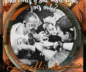 band, orange, and chester image