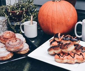 pumpkin, autumn, and food image