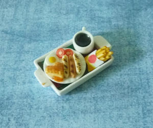 breakfast, doll house, and etsy image