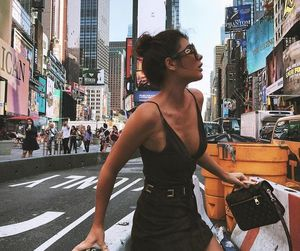 fashion, city, and new york image