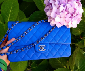 blue, luxury, and chanel image