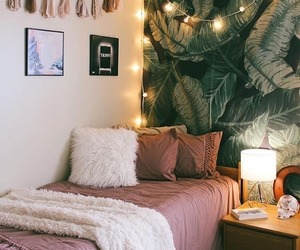 bedroom in soft-pink image
