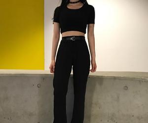 fashion, alternative, and black image