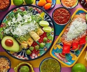 comida, aguacate, and méxico image