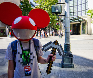 boy, deadmau5, and photography image