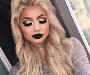 cabelo, hair, and makeup image