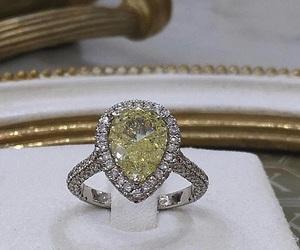 diamond ring, glamorous, and jewellery image