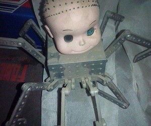 toy story, scary, and spider image