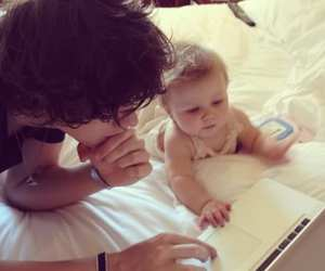 Harry Styles, one direction, and baby image