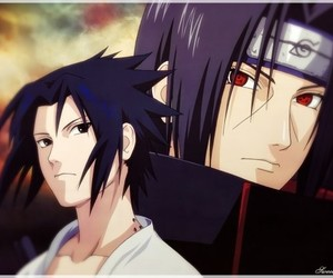 naruto, anime, and itachi image