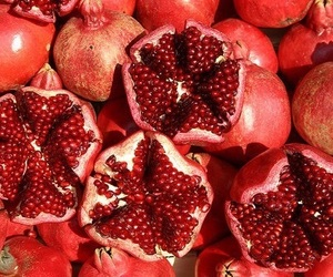 red, theme, and fruit image