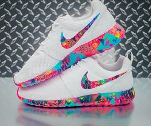 nike and a-colorful-nike image