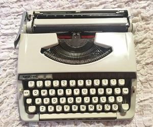 books, literature, and typewriter image
