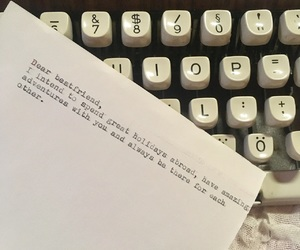 Letter, quote, and travelling image