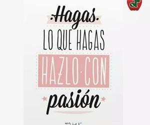 trabajo and pasión image
