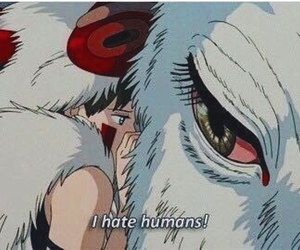 anime, princess mononoke, and ghibli image