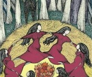 fire, ritual, and witchcraft image