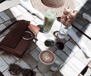 bag, chloe, and coffee image