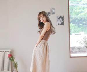 asian fashion, bangs, and fashion image
