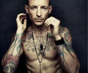 tattoo, linkin park, and chester bennington image