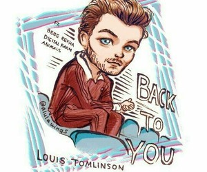 back to you and louis tomlinson image