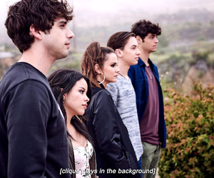 the fosters, brandon foster, and mariana adams foster image