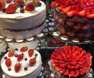 cake, beautiful, and food image