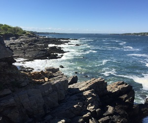 beautiful, Maine, and ocean image