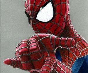 comics, spiderman, and hero image