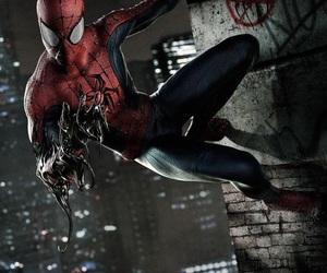 black suit, comics, and hero image