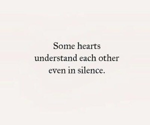 quotes, words, and hearts image