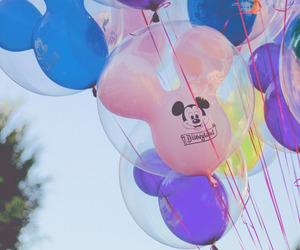 balloons, disneyland, and dlr image