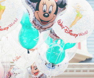 balloons, disney, and mk image