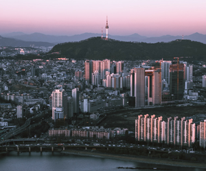 city and korea image